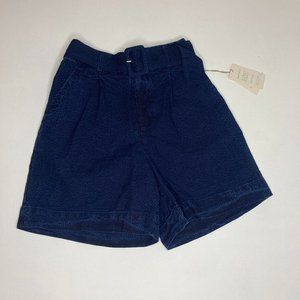 NWT, A new day belted high rise shorts XS